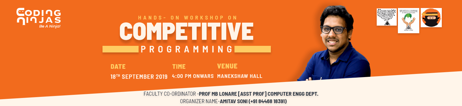 Competitive Hands on Session - Army Institute,Pune