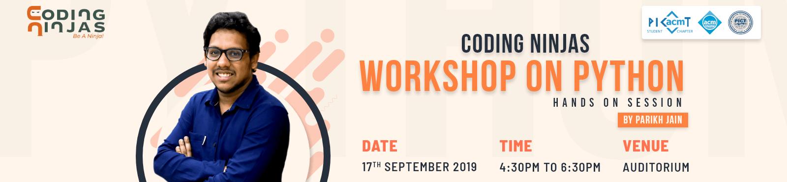 Workshop at PICT, Pune