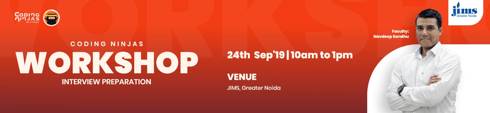 Workshop at JIMS, Greater Noida