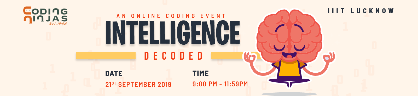 Intelligence Decoded - An Online Coding Event