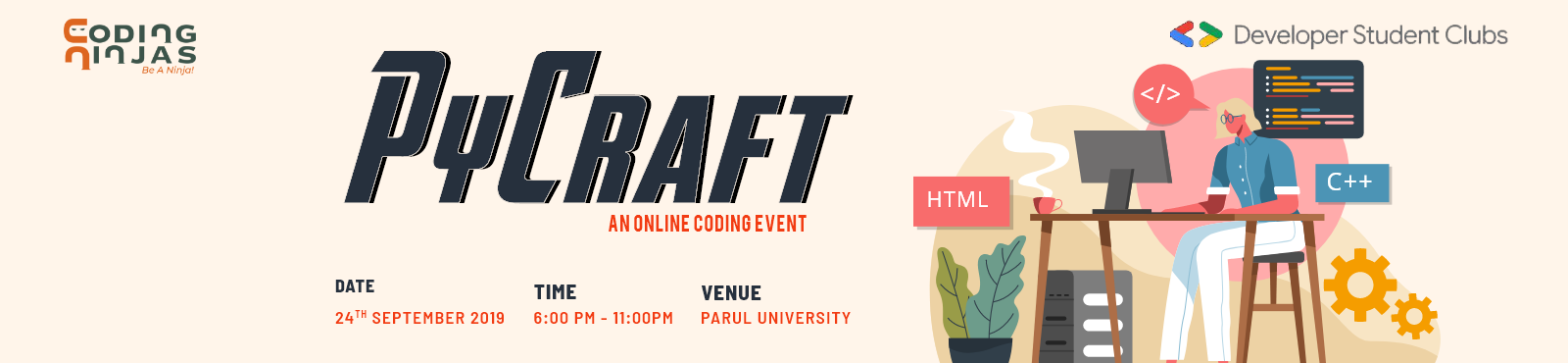 PyCraft - An Online Coding Event