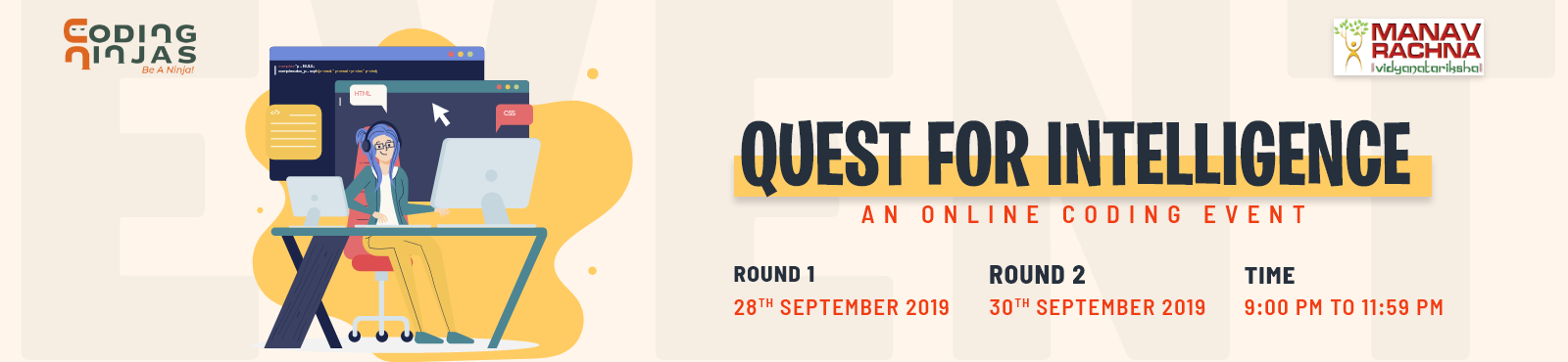Quest for Intelligence - An Online Coding Event