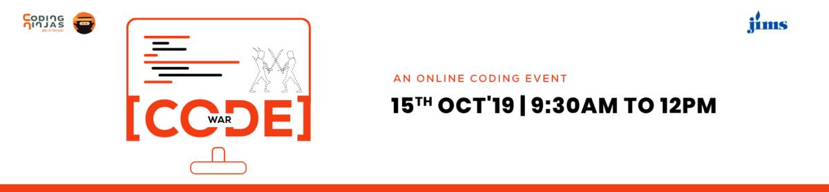 JIMS_Code War- An Online Coding Event
