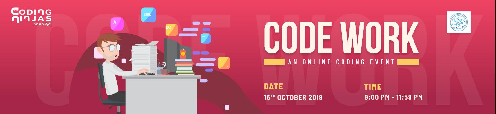 Code Work- An online event