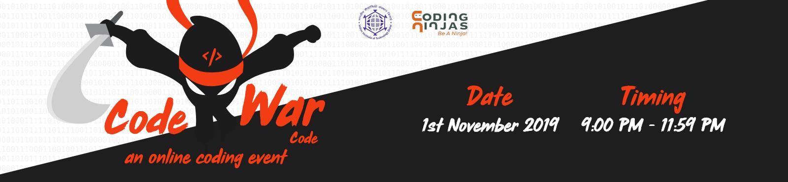 Code War Code - An Online Coding Event
