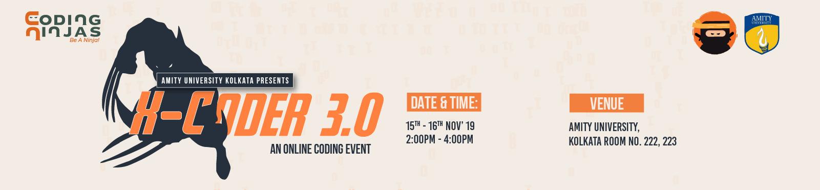 X-Coder 3.0 (Amity university)