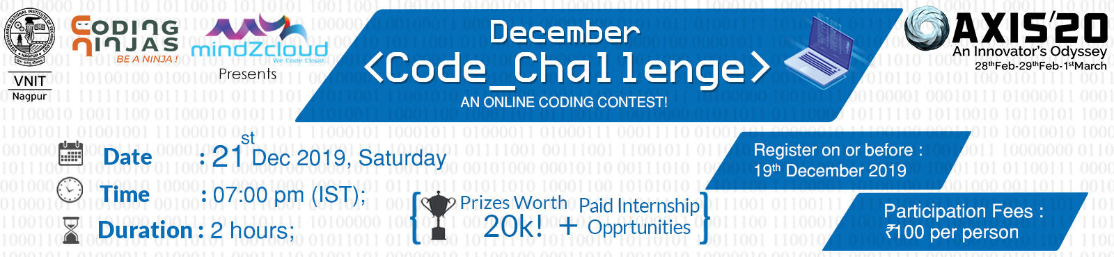 DECEMBER<CODE CHALLENGE>