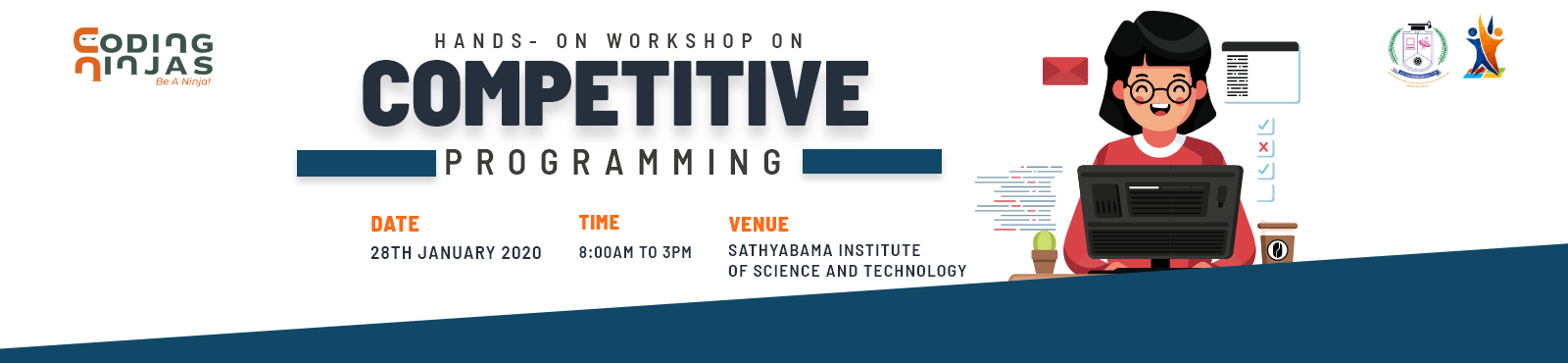 Workshop at Sathyabama institute of science and technology