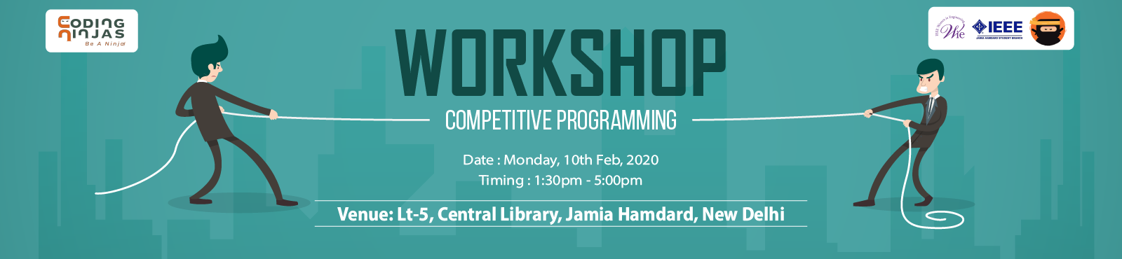 Coding Ninjas at Jamia Hamdard'20