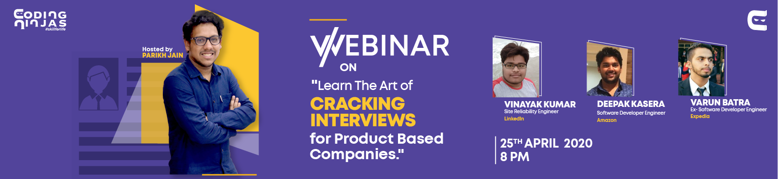 Learn the Art of Cracking Interviews for Product Based Companies